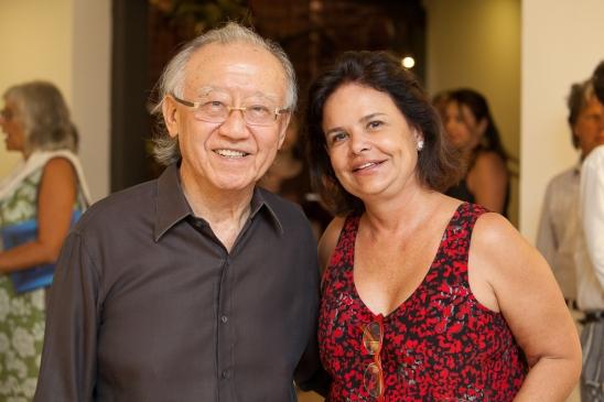 Rui Ohtake e Nara Roesler