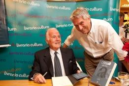 Mino Carta e Helio Cunha