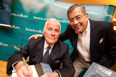 Mino Carta e Paulo Amorim