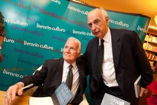 Mino Carta e Claudio Lembo
