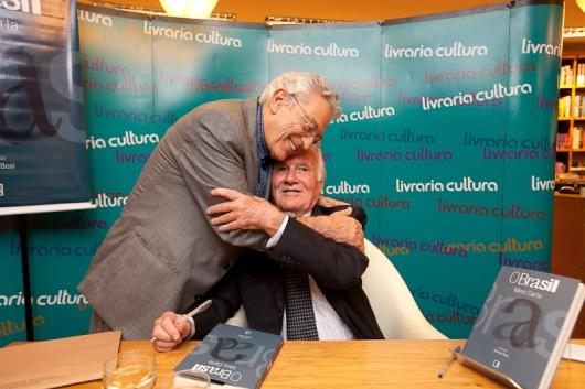 Alfredo Bosi e Mino Carta