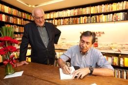 José Roberto Guzzo e Merval