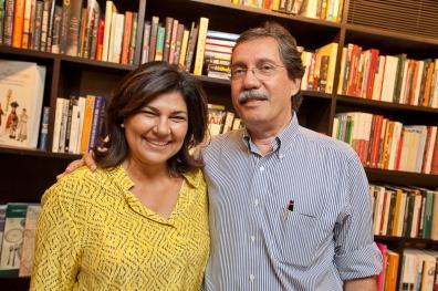 Cristina Lobo e Merval