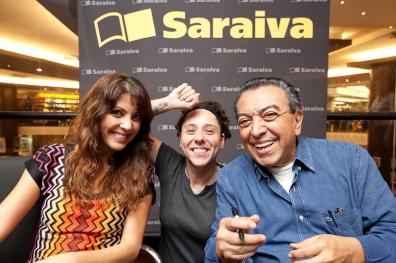 Thalita Rebouças e Mauricio de Sousa