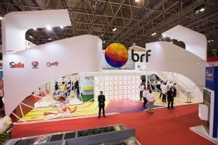 Estande BRF - Expofood 2016 - VZAE