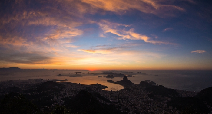 Sunrise no Corcovado –Mastercard